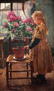 Rhododendron in Bloom Leon Frederic