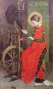 St Elizabeth of Hungary Spinning for the Poor Marianne Stokes