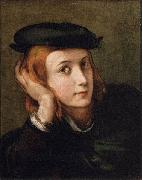 Portrait of a Youth PARMIGIANINO