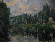 Bridge at Cereteil Paul Cezanne