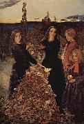 Herbstlaub Sir John Everett Millais