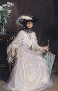Evelyn Farquhar, wife of Captain Francis Douglas Farquhar daughter of the John Hely-Hutchinson, 5th Earl of Donoughmore Sir John Lavery