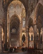 Interior of Westminster Abbey Victor-Jules Genisson