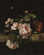 Group of flowers Willem van Aelst