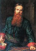Selfportrait William Holman Hunt