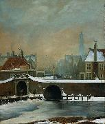 The Raamgate at Amsterdam Wouter Johannes van Troostwijk
