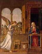 The Annunciation CIMA da Conegliano
