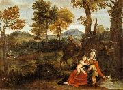 The Rest on the Flight into Egypt Domenichino