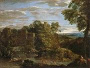 Landscape with The Flight into Egypt Domenichino