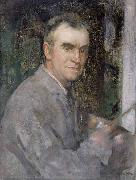 Self portrait Edward Arthur Walton