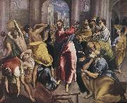 Christ Driving the Money Changers from the Temple El Greco
