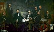 First Reading of the Emancipation Proclamation of President Lincoln Francis B. Carpenter