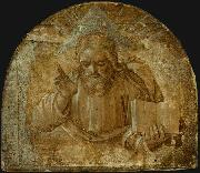 God the Father with His Right Hand Raised in Blessing Girolamo dai Libri