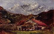 Die Berghutte Gustave Courbet