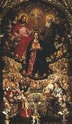 Coronation of the Virgin Mary. Herman Han