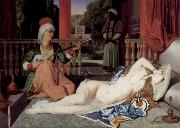 Odalisque with Slave Jean Auguste Dominique Ingres