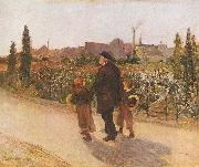 All Souls' Day Jules Bastien-Lepage