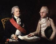 George Macartney, 1st Earl Macartney; Sir George Leonard Staunton, 1st Bt Lemuel Francis Abbott