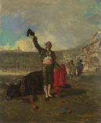 The BullFighters Salute Marsal, Mariano Fortuny y
