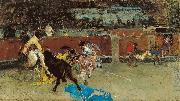 Bullfight Wounded Picador Marsal, Mariano Fortuny y