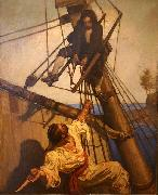 One more step, Mr. Hands Newell Convers Wyeth