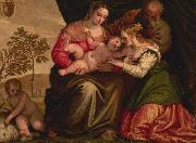 The Mystic Marriage of St Catherine Paolo Veronese