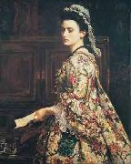 Vanessa Sir John Everett Millais
