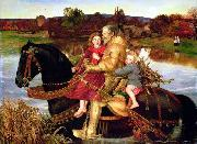Sir Isumbras at the Ford Sir John Everett Millais