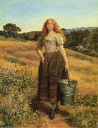 The Farmers Daughter Sir John Everett Millais