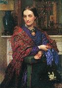 Portrait of Fanny Holman Hunt William Holman Hunt