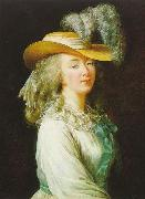Portrait of Madame du Barry elisabeth vigee-lebrun