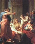 Achilles at the Court of Lycomedes BATONI, Pompeo