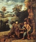 St.Jerome in the Desert CIMA da Conegliano