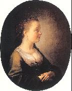 Portrait of a Young Woman DOU, Gerrit