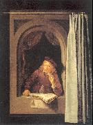 Painter with Pipe and Book DOU, Gerrit