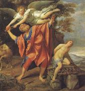 The Sacrifice of Abraham Domenichino