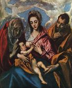 Holy Family El Greco
