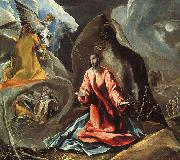 Agony in the Garden El Greco