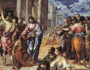 The Miracle of Christ Healing the Blind El Greco