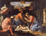 The Adoration of the Shepherds Francesco Salviati
