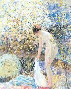 Cherry Blossoms Frieseke, Frederick Carl