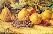 Apples, Pears, and Grapes on the Ground Hill, John William