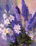 Larkspur and Lilies Hills, Laura Coombs