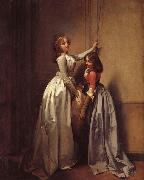 In the Entrance Louis-Leopold Boilly