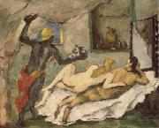 Afternoon in Naples Paul Cezanne