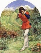Ferdinand Lured by Ariel Sir John Everett Millais