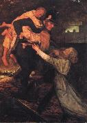 The Rescue Sir John Everett Millais