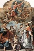 Madonna in Glory and Saints Ubaldo Gandolfi