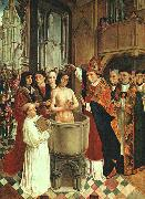 The Baptism of Clovis MASTER of Saint Gilles