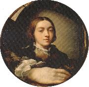 Self-portrait in a Convex Mirror PARMIGIANINO